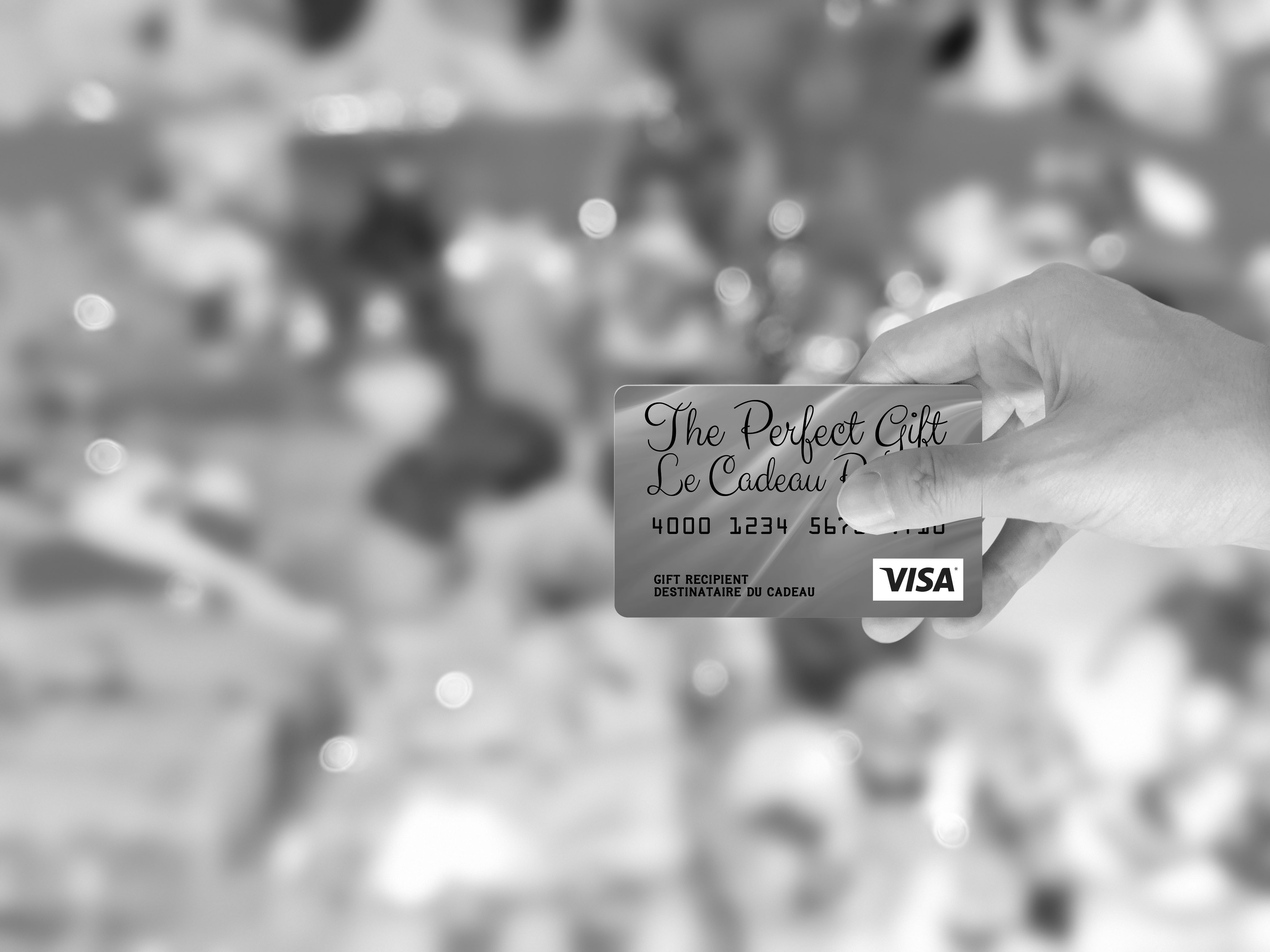 perfect gift cards for the holidays