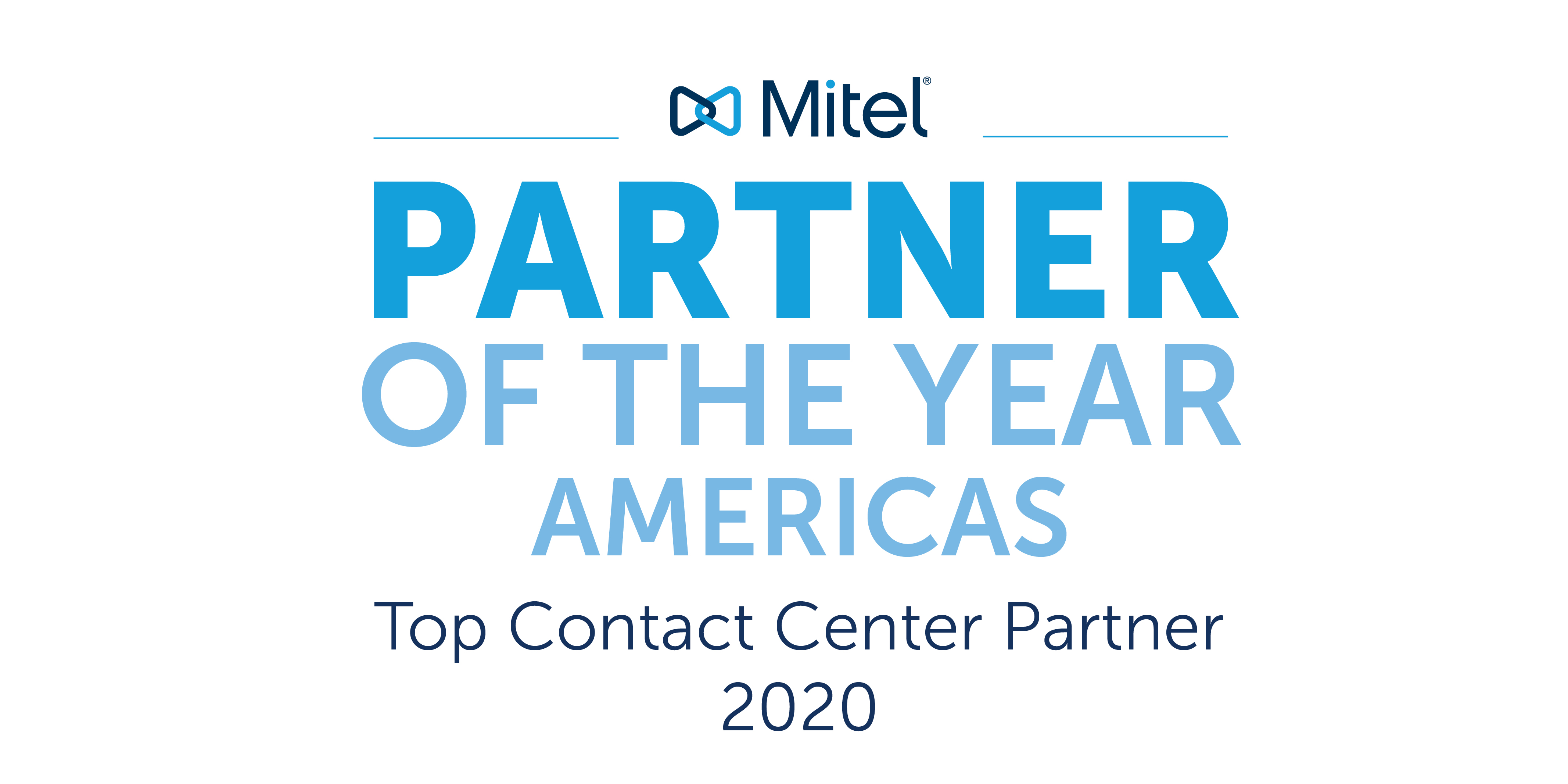 Partner of the Year Americas - Top Government and Top Contact Center Partner 2020