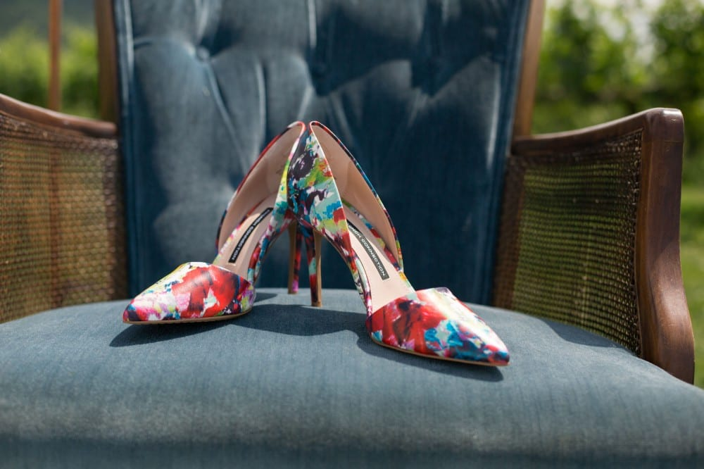 Beautiful wedding shoes to photograph to capture best memories