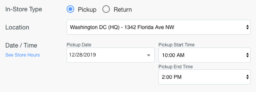 Goodshuffle Pro pickup schedule.