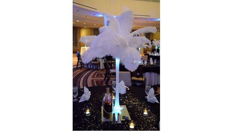 bridesmaid centerpiece bouquet alternative