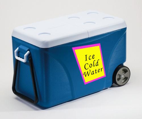 Cooler ideas for an outdoor summer event