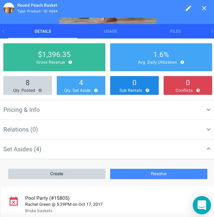 Mobile screenshot of Goodshuffle Pro dashboard