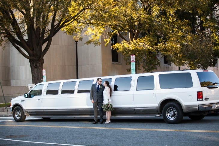 event rental limo for a wedding