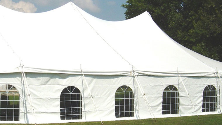 sidewalls. Renting a Tent 101. goodshuffle.com. cathedral windows sidewalls.