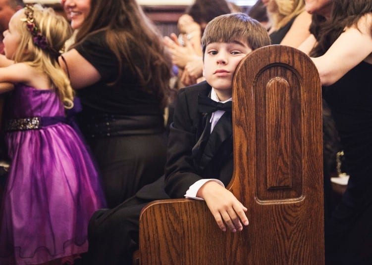Bored kid at wedding, how to entertain kids at a wedding