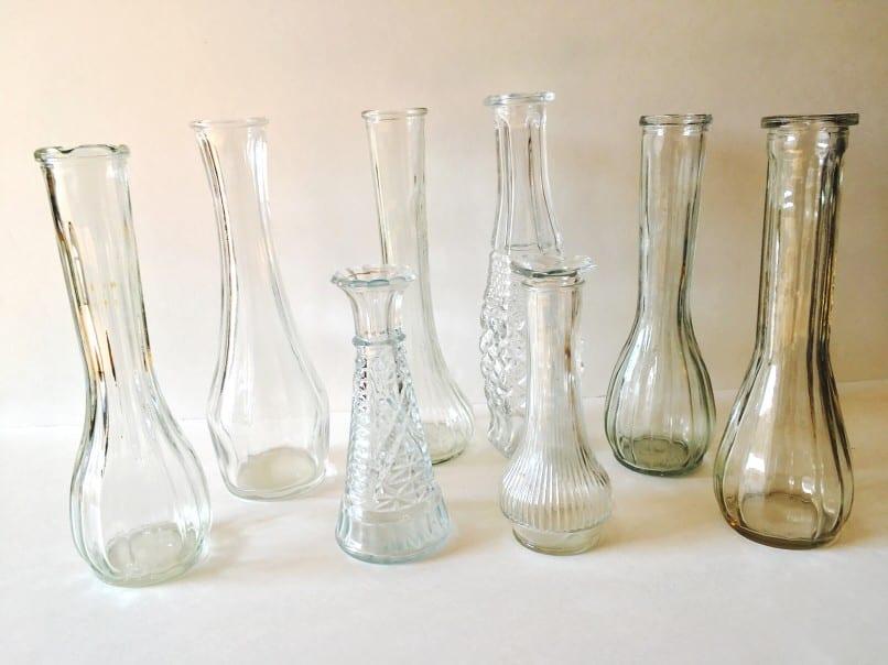 vintage glassware for event rentals