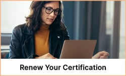 Renew Your Certification