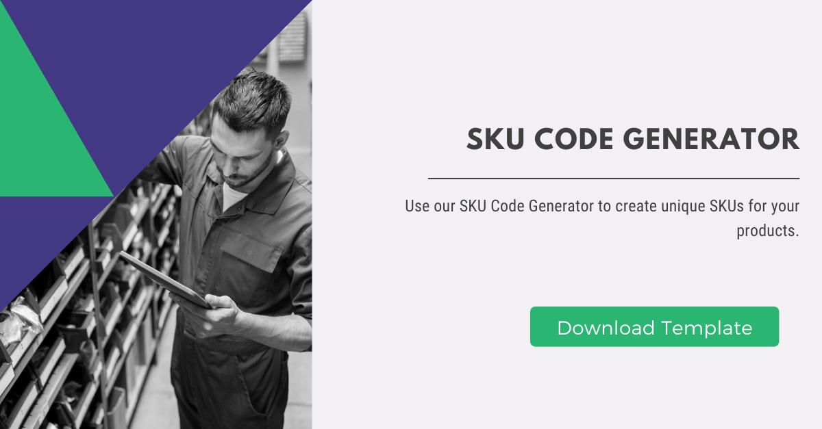 SKU Code Generator
