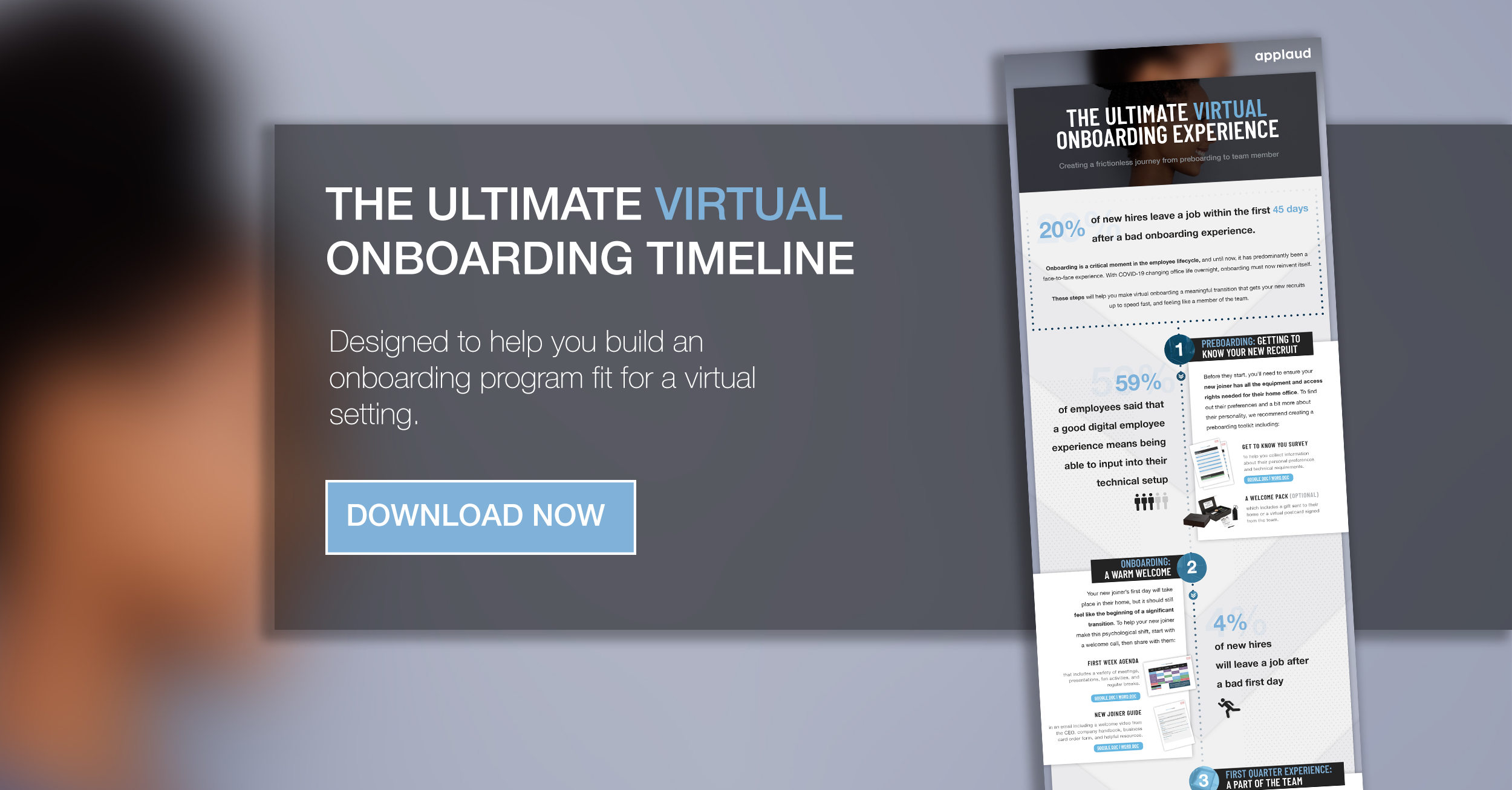 The ultimate virtual onboarding timeline from Applaud HR