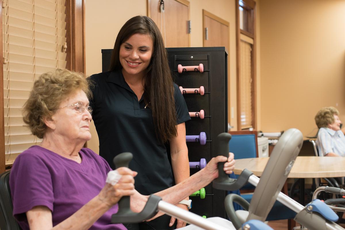 The Pavilion Senior Living - Post-Hospitalization Rehabilitation