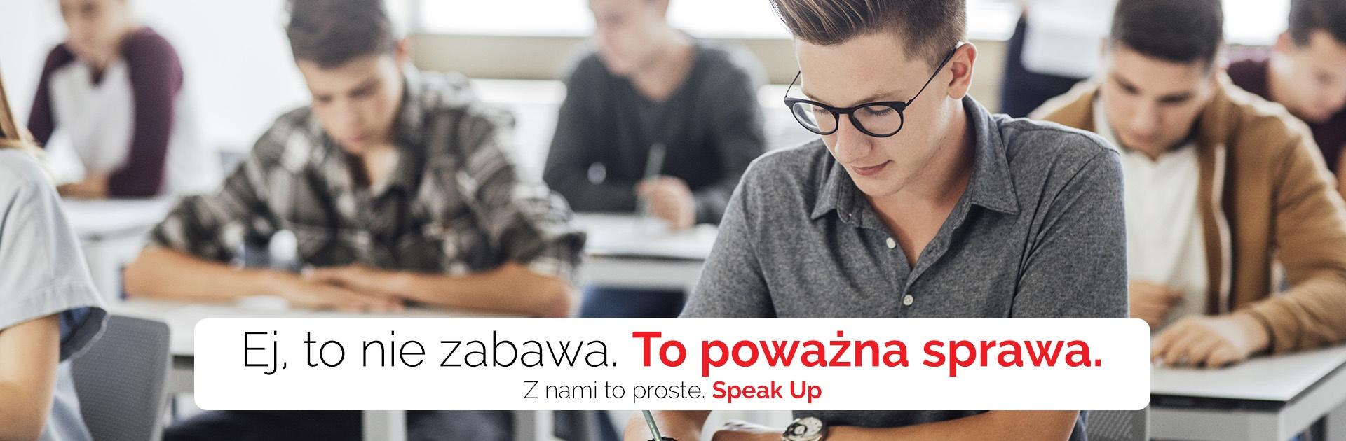 Kurs przygotowujący do egzaminu dla ósmoklasisty z języka angielskiego w Speak Up