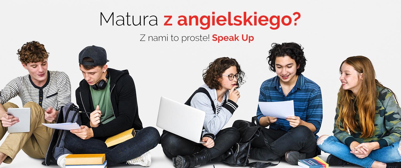 Przygotowanie do matury z angielskiego w Speak Up