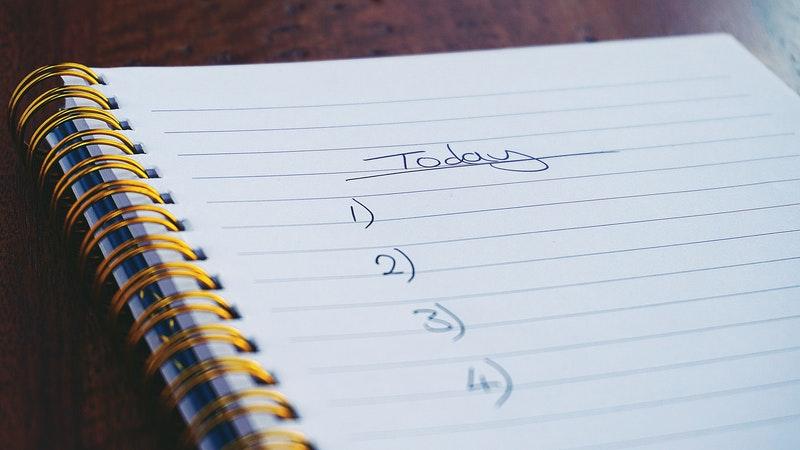Plan nauki języka angielskiego