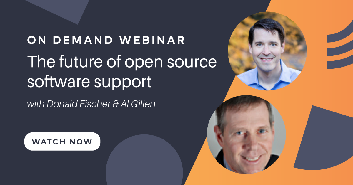 The future of open source software support