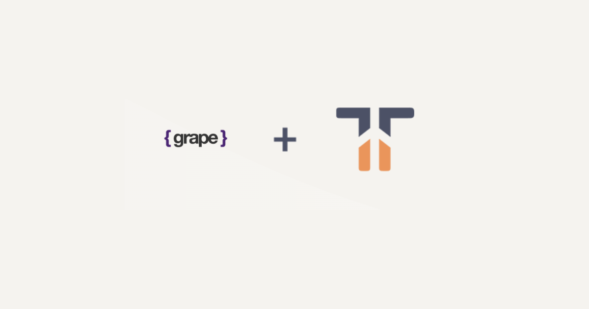 Grape is now part of the Tidelift Subscription