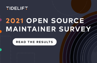 The 2021 Tidelift open source maintainer survey
