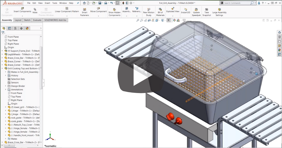 Working with Selection Sets in SOLIDWORKS