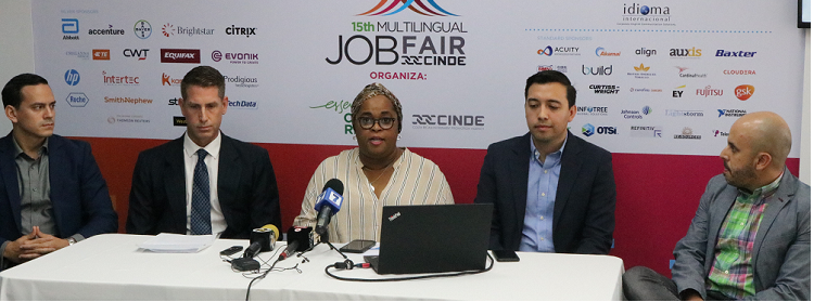 CINDE Job Fair celebra edición número 15 con más de 3.000 puestos disponibles