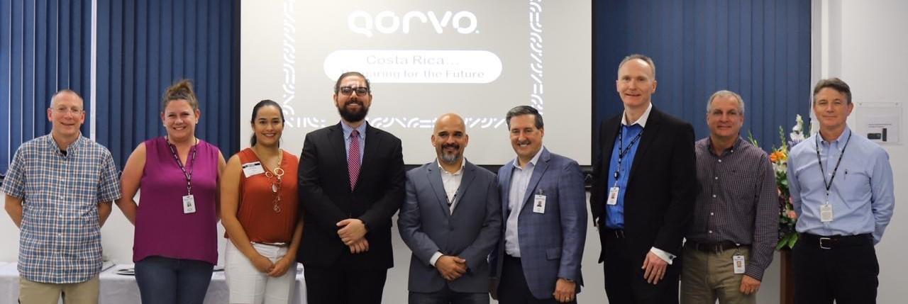 Qorvo expande operaciones en Costa Rica para implementar manufactura de mayor valor agregado en telecomunicaciones