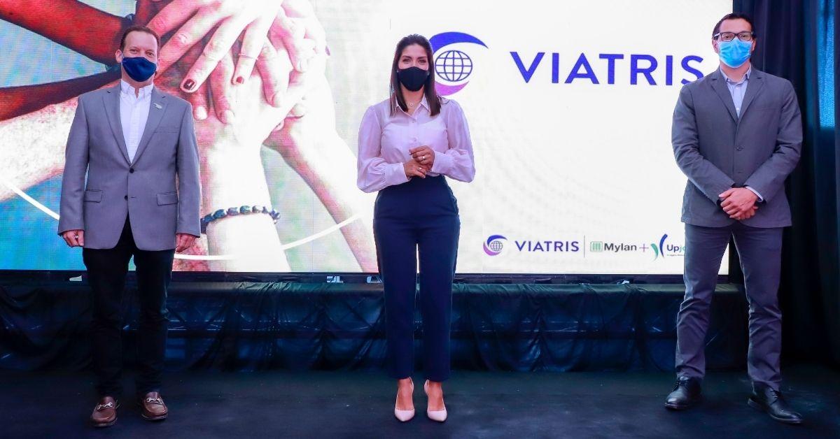 VIATRIS, sexta empresa farmacéutica más grande del mundo anuncia su llegada al país