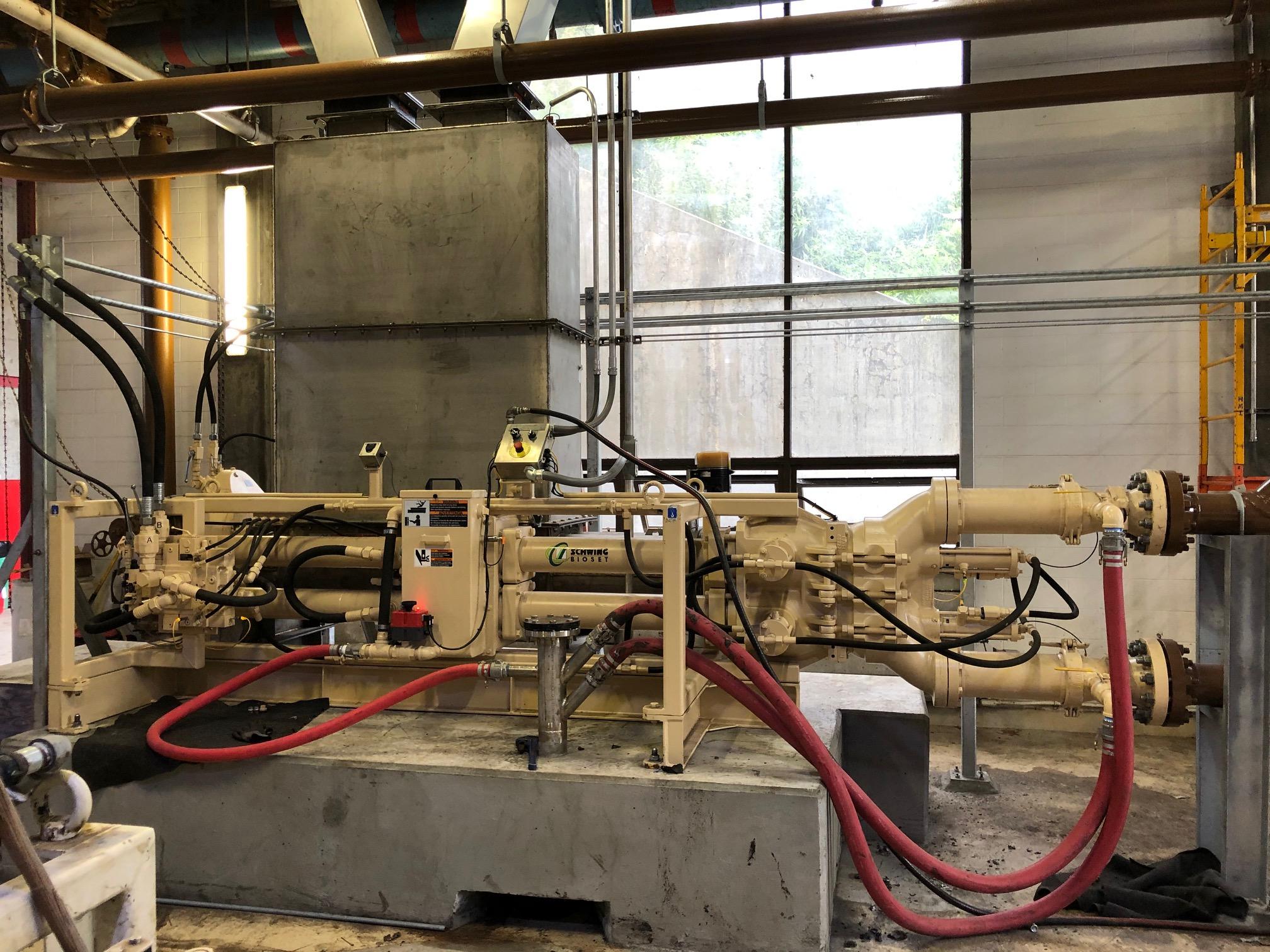 Schwing Bioset Piston Pump