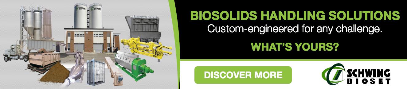Schwing Bioset Biosolids Handling Solutions