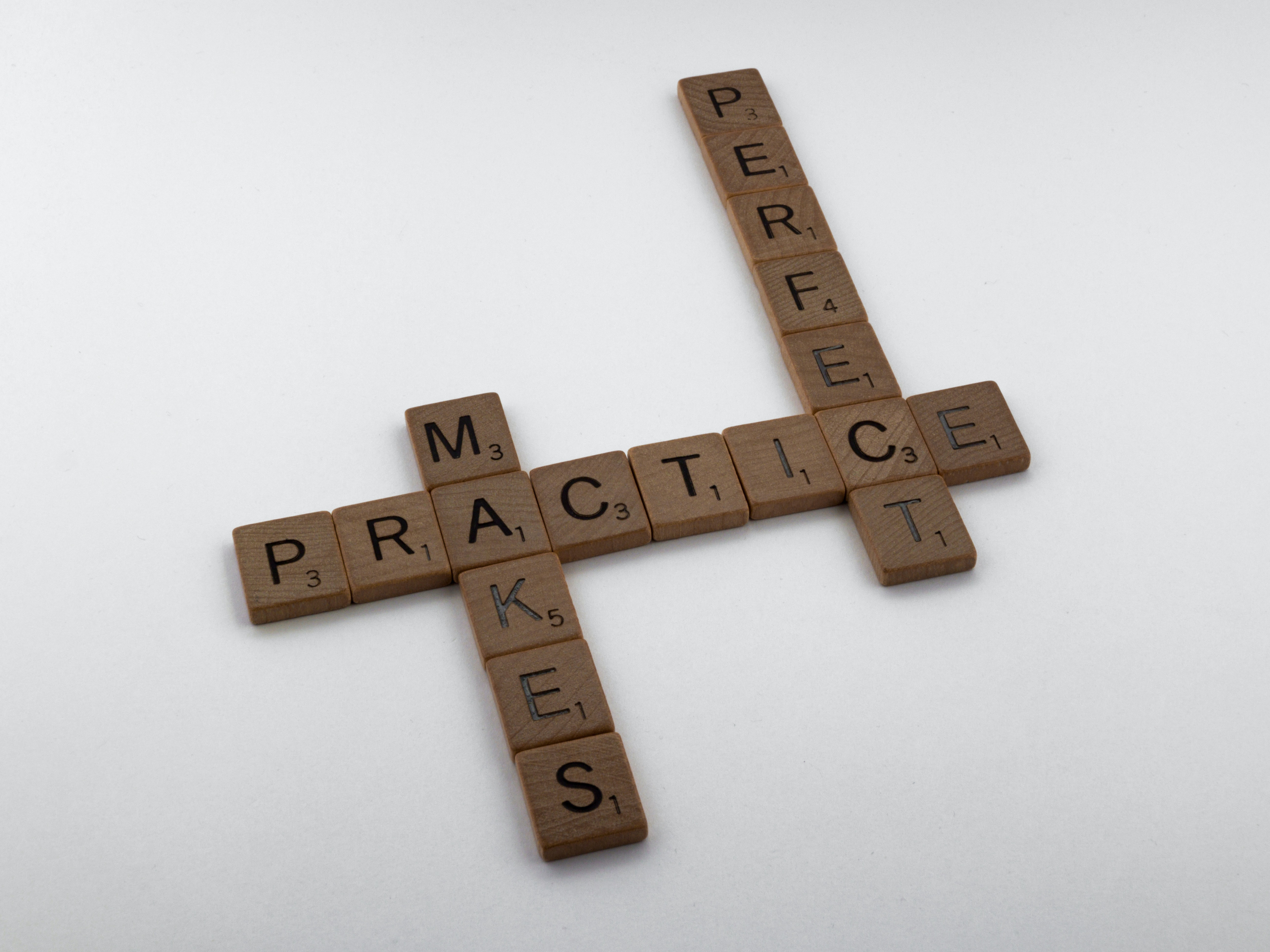 Gorilla Jobs Blog Three Tips to Optimize CV Practice Makes Perfect Scrabble Words