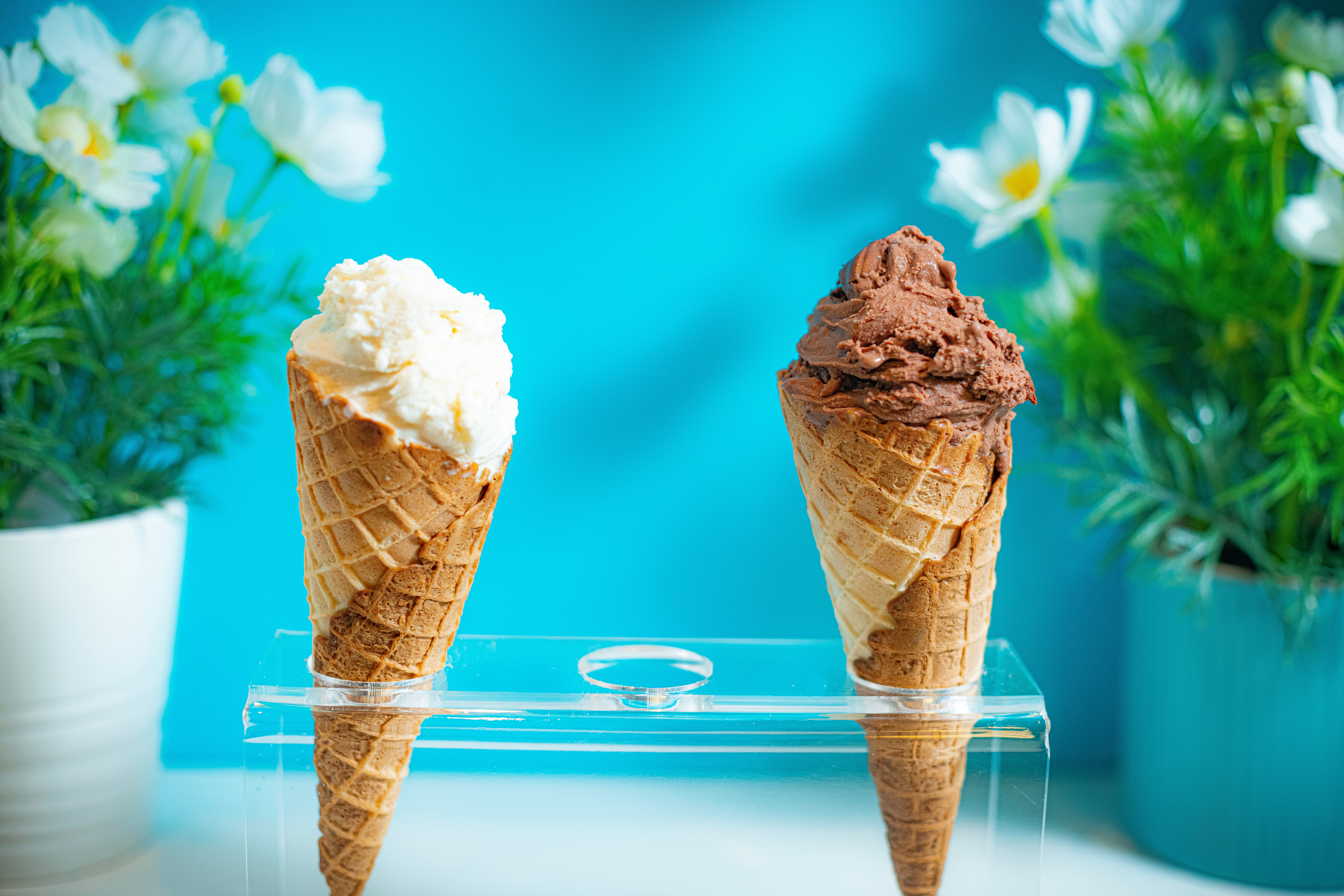 Ice cream consumption hasn't suffered this summer despite the pandemic
