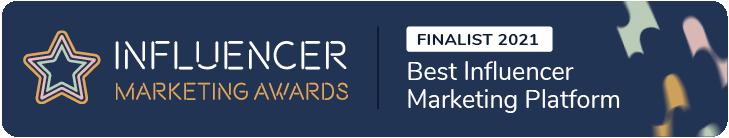 IMA21_Finalist_Best Influencer Marketing Platform