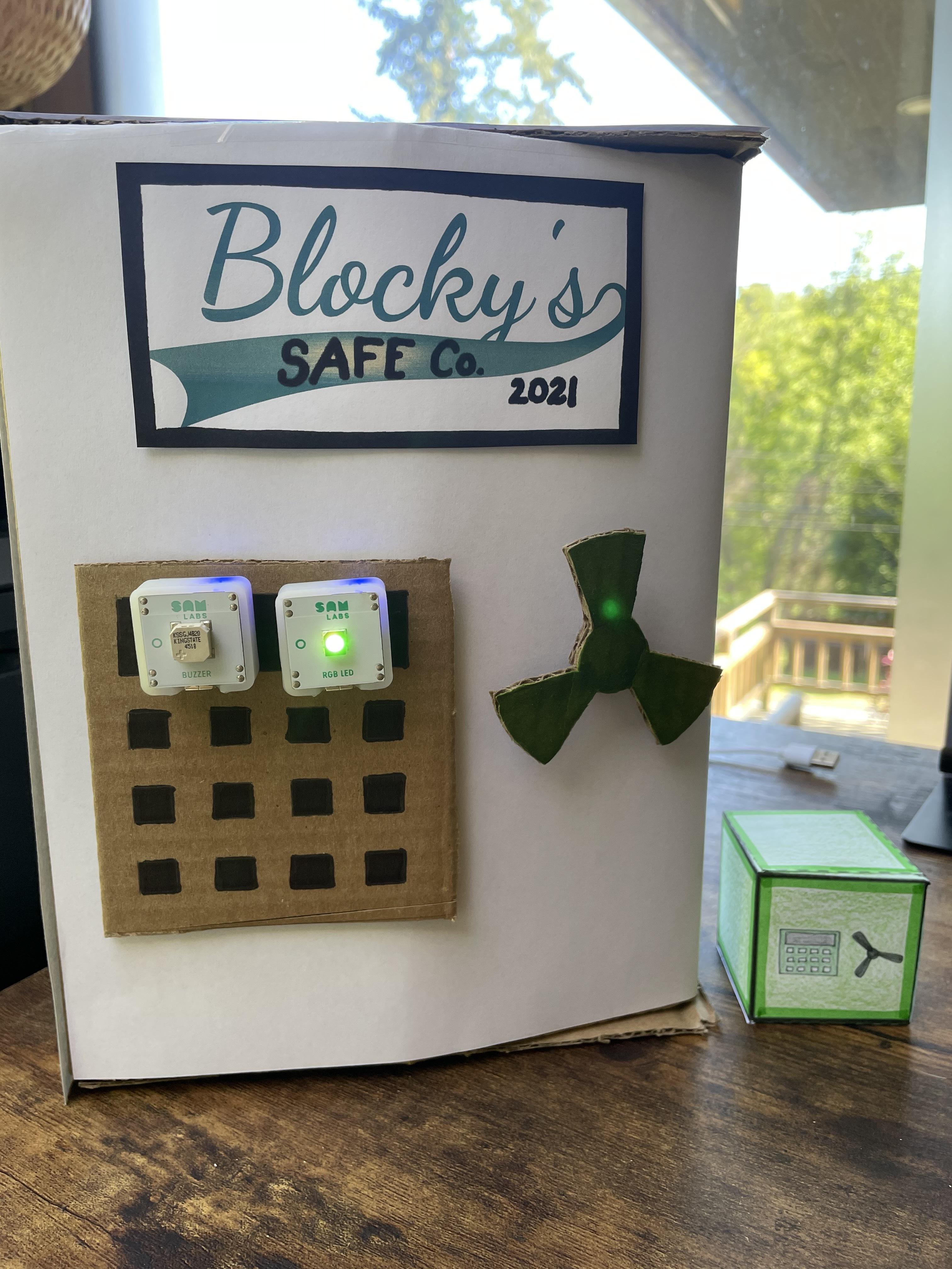 Blockys Smart Safe Prototype