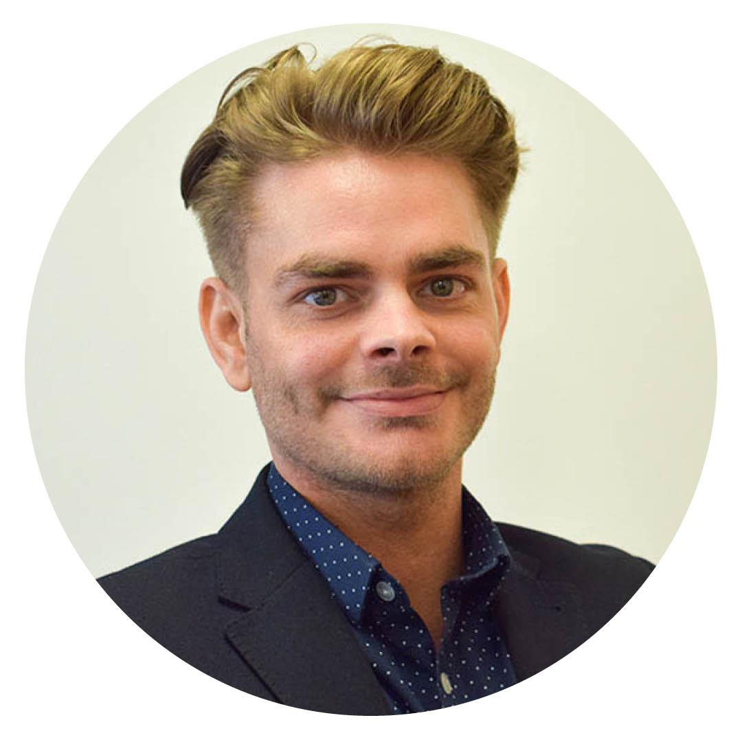 Jake Jones - Admissions Manager