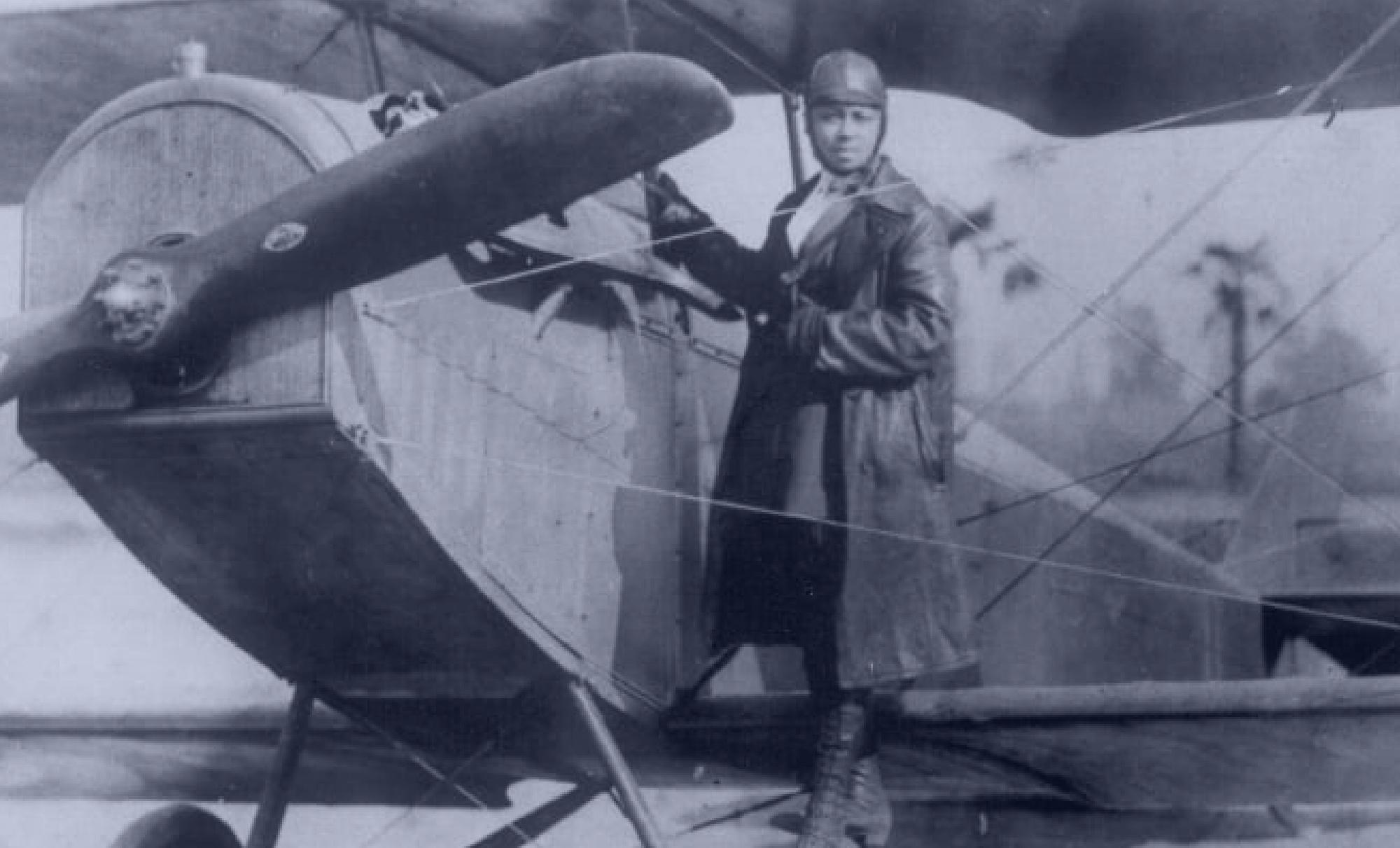 Bessie Coleman Banner