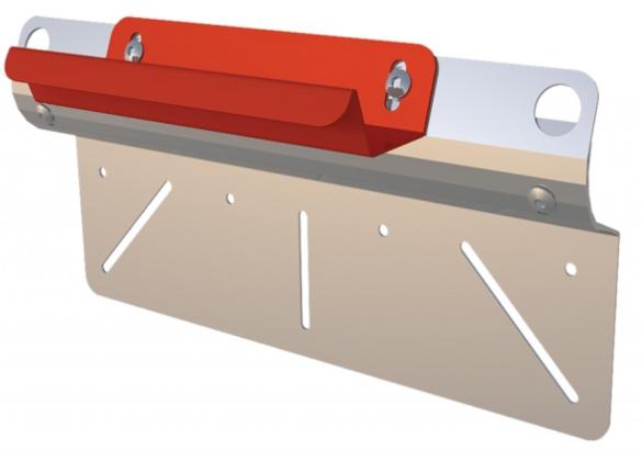 KATT - Ladder Bracket - Wall - Clear Cut
