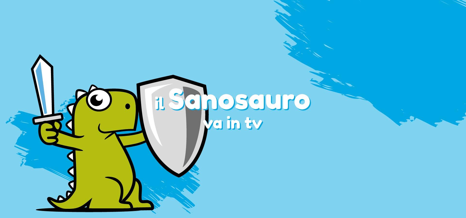Sanosauro - spot televisivo creato dall'agenzia pubblicitaria Unique