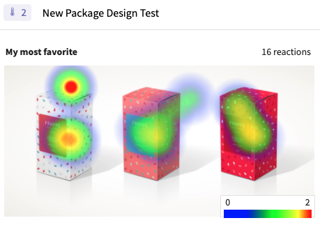 image example  of SightX heat mapping question type