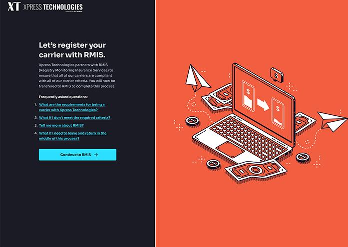 Register with RMIS