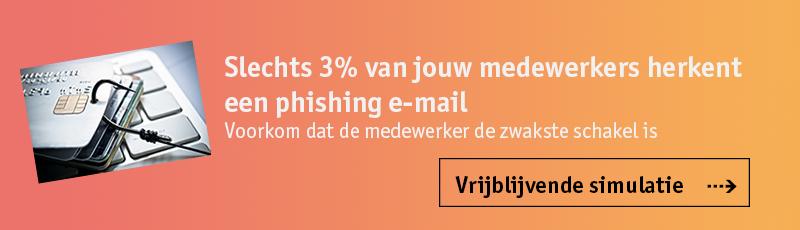 Vrijblijvende phishing simulatie
