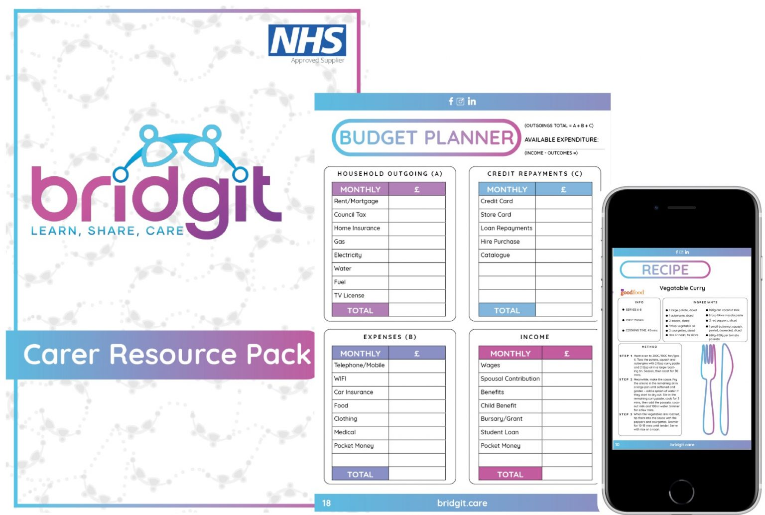 carers pack